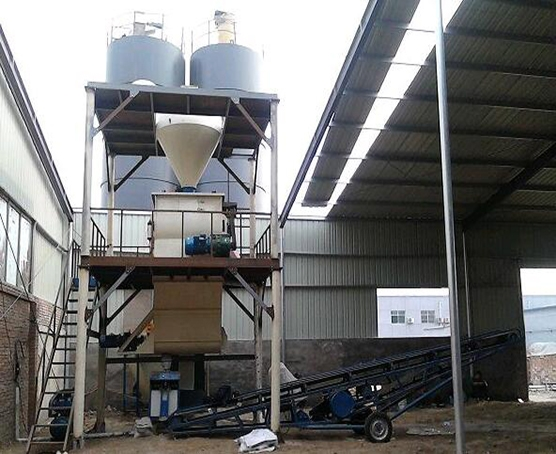 全自动10-30㎥h保温砂浆成套设备
